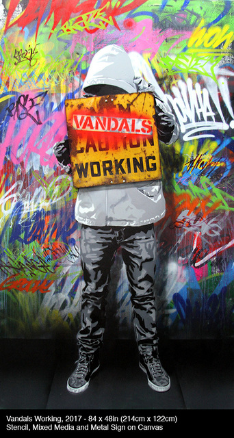 , 'Vandals Working,' 2017, Contessa Gallery