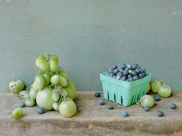 David Halliday, 'Green Tomatoes and Blueberries', 2007, Carrie Haddad Gallery