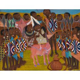 Maasai Dowry Ceremony