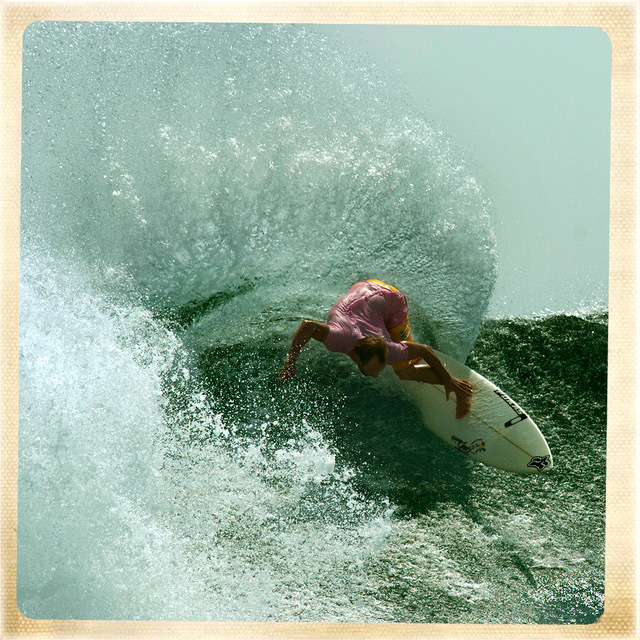 , 'Erneo Acero surfing in Krui Sumatra, Indonesia.,' , Anastasia Photo