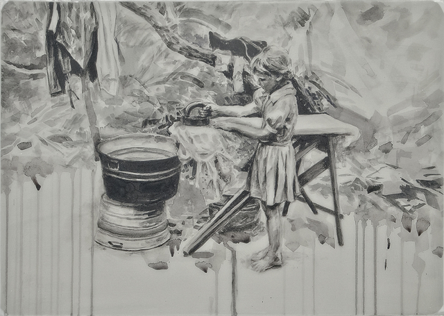 , 'Ironing 1/3,' , Gail Severn Gallery