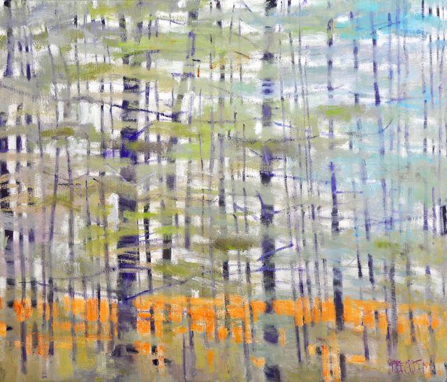 , 'Veil of White Pines,' ca. 2019, Thomas Deans Fine Art