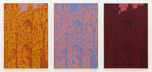 Roy Lichtenstein, 'Rouen Cathedral, Set 5', 1969, Painting, Oil and Magna on canvas, San Francisco Museum of Modern Art (SFMOMA)
