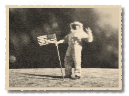 , 'Astronaut on TV,' 1969/2011, PDNB Gallery