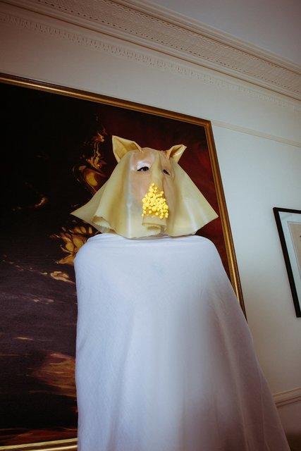 , 'PIG MASK,' 2017, Ria Keburia Gallery