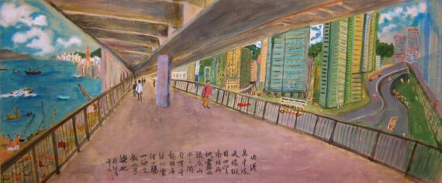 TC Lai 賴恬昌, 'New Exchange Square (bridge)', ca. 1998, Alisan Fine Arts