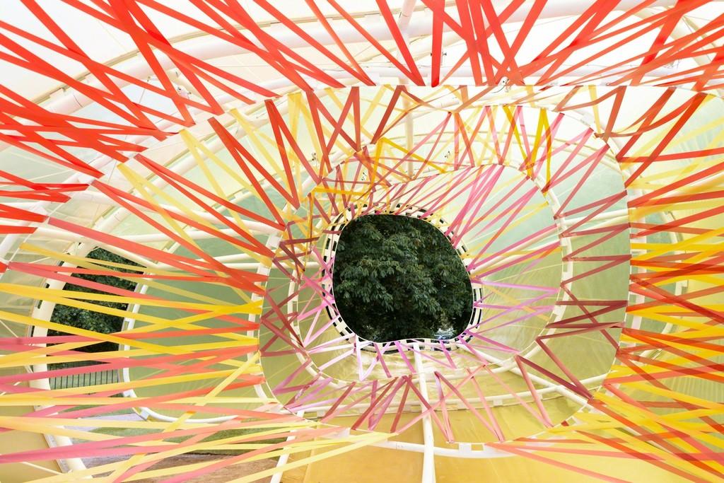 Serpentine Pavilion 2015 designed by selgascano. © NAARO