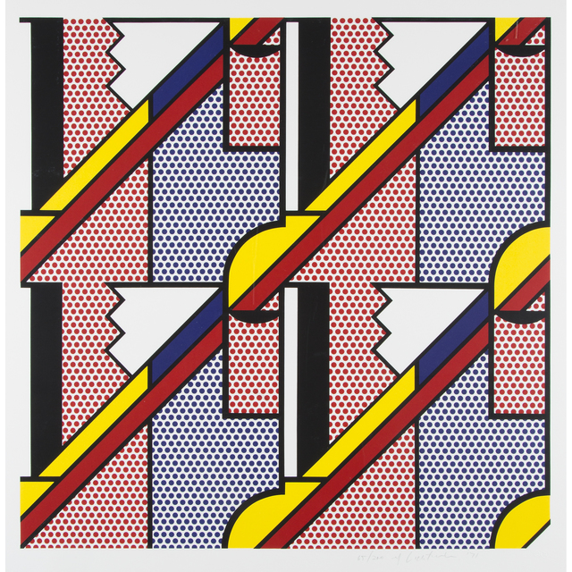 Roy Lichtenstein, 'Modern Print', 1971, Print, Color lithograph and screenprint on Special Arjomari paper, Freeman's