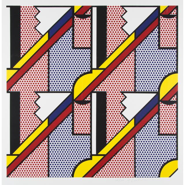 Roy Lichtenstein, 'Modern Print', 1971, Freeman's