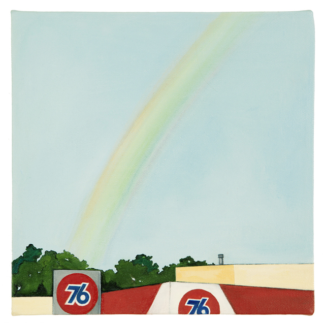 "Purdy Eaton, 'Untitled - Pot of ""gold""', 2013, Painting, Oil on canvas, Friends Seminary Benefit Auction"