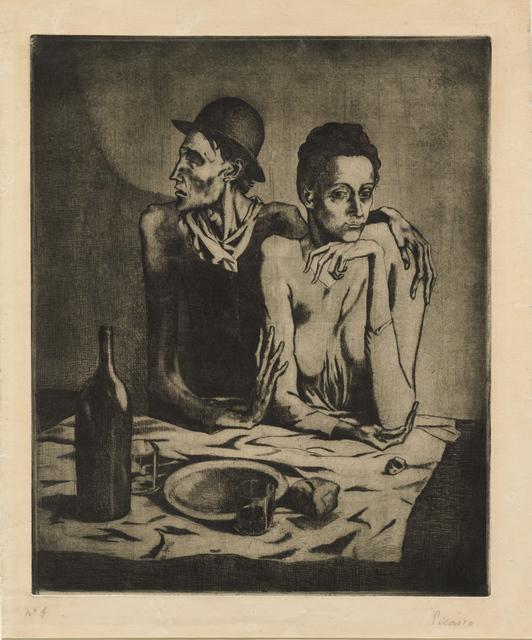 Pablo Picasso, 'The Frugal Repast', 1904, Clark Art Institute