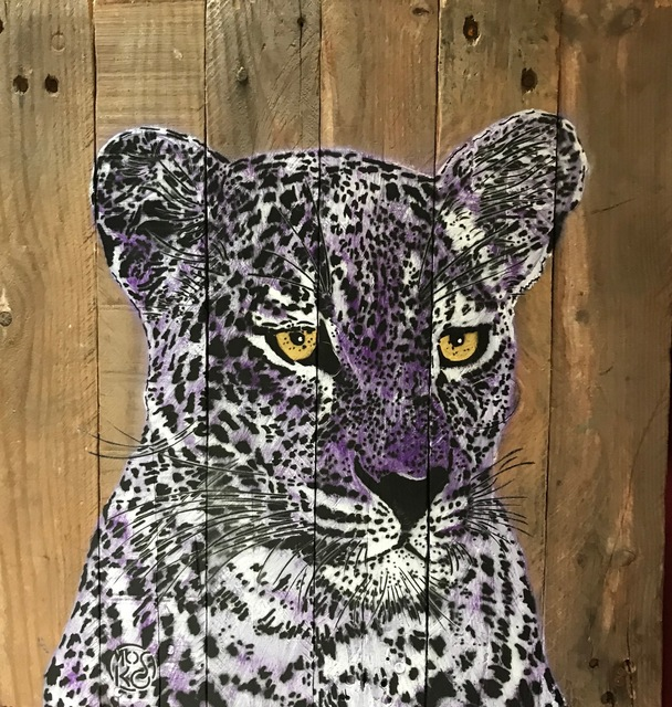 , 'Purple Panther,' 2018, Galry