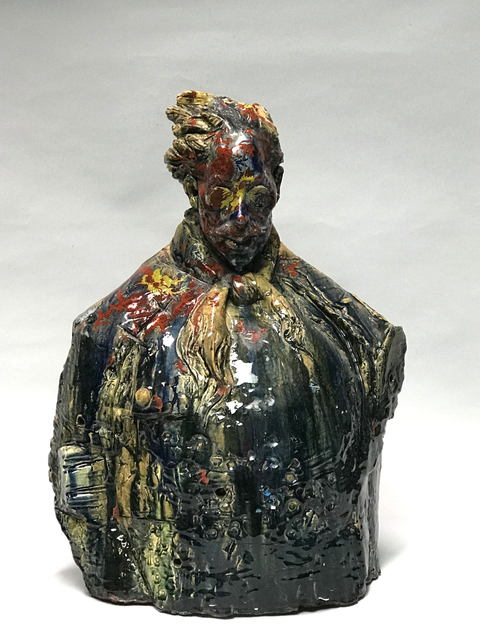 , 'Warrior Bust,' 2016, Turner Carroll Gallery