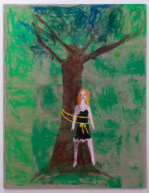 , 'Tie a yellow ribbon,' 2018, Roslyn Oxley9 Gallery
