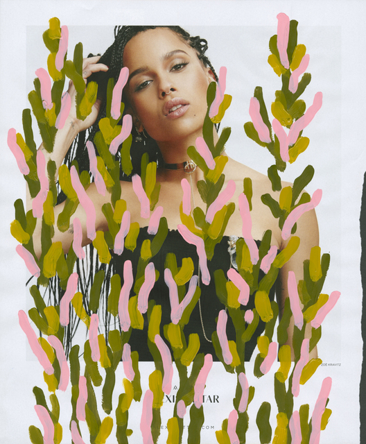 , 'Untitled (Zoe Kravitz by Manolo Campion for Alexis Bittar),' 2016, Danziger Gallery