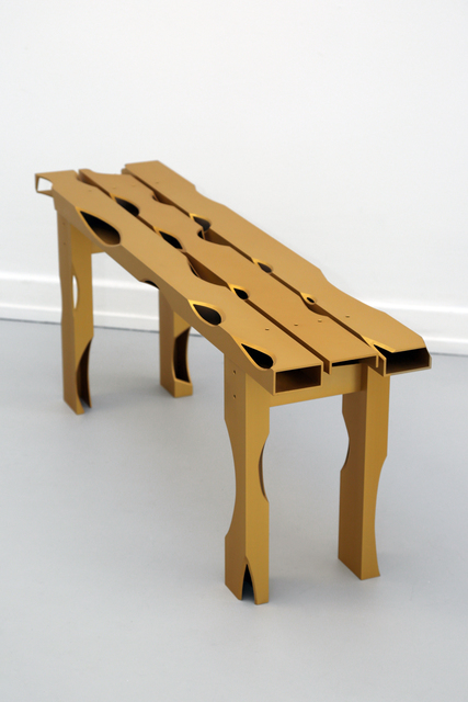 Soft Baroque, 'Carved Aluminium Bench', 2019, Etage Projects