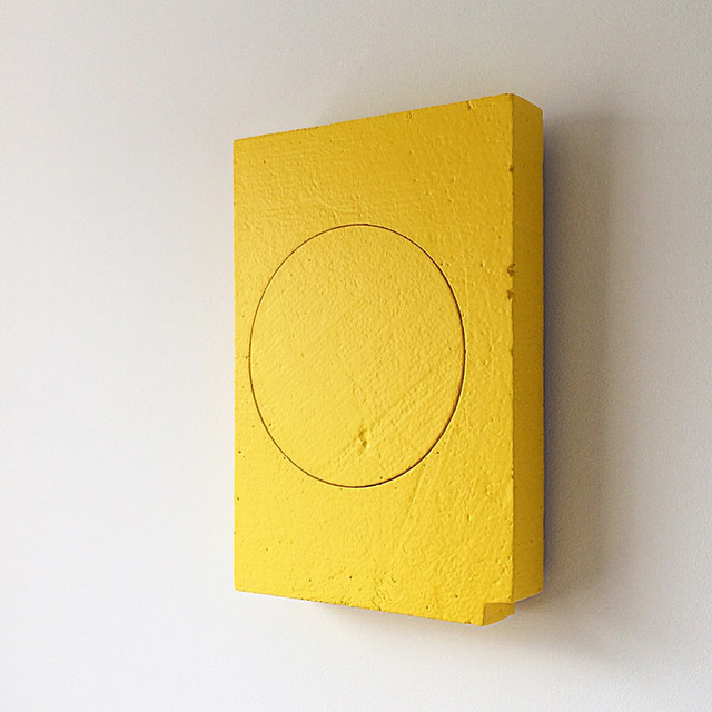 Jon Thomas, 'Space Between', 2018, Sculpture, Polystyrene, plaster, mdf, acrylic paint, &Gallery