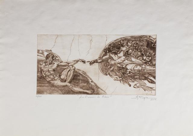 Miguel Angel Tapia, 'La creación de Adan', Bernardini Art Gallery & Auction House