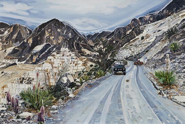 Burcu Perçin, 'Yenilenmeye Bırakılmış Dağlar / Mountains Left to Regenerate', 2016, x-ist
