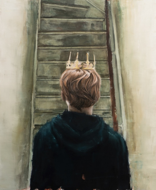 , 'Le petit prince coming home after police raid,' 2019, NextStreet Gallery