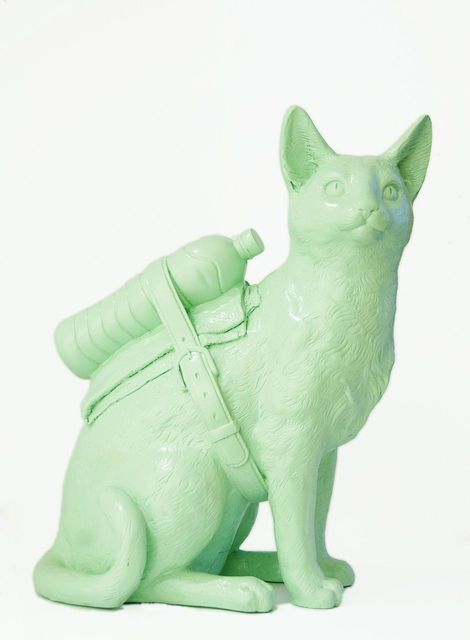 , 'Cloned Cat,' 2011, Galleria Ca' d'Oro