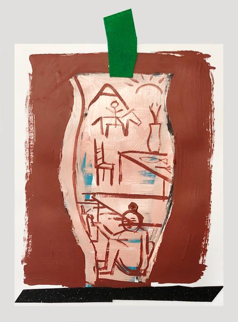 , 'Floor Painting On Vessel,' ca. 2018, V1 Gallery