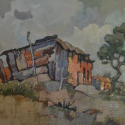 Gregoire Johannes Boonzaier, 'Rural Shack', 1982, Axis Art Gallery