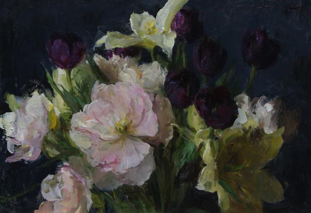 , 'Garden Tulips,' 2019, Maxwell Alexander Gallery