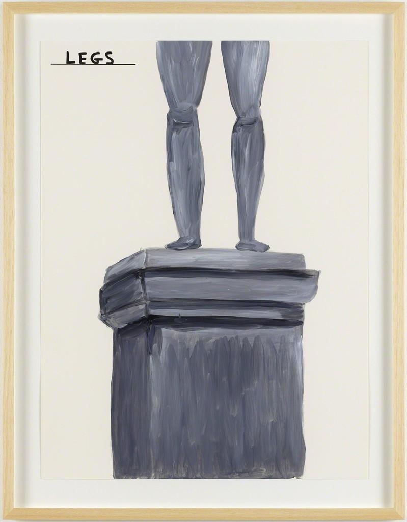 David Shrigley, 'Untitled (Legs),' 2014, Galleri Nicolai Wallner