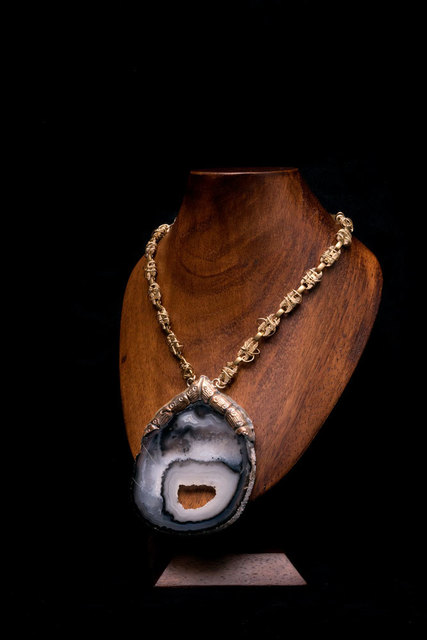, 'A11 Brazilian Agate with chain,' , Frederieke Taylor Gallery