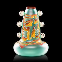 "Face Vase, ""Lizard Man,"" Kensington, NH"