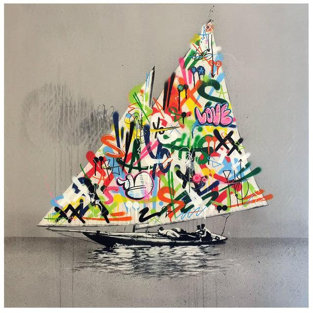 , 'Sailboat,' 2016, Black Book Gallery