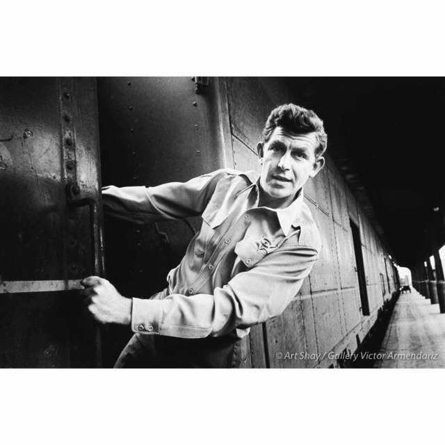 , 'Andy Griffith on Train in Nashville, 1961,' 2017, Gallery Victor Armendariz