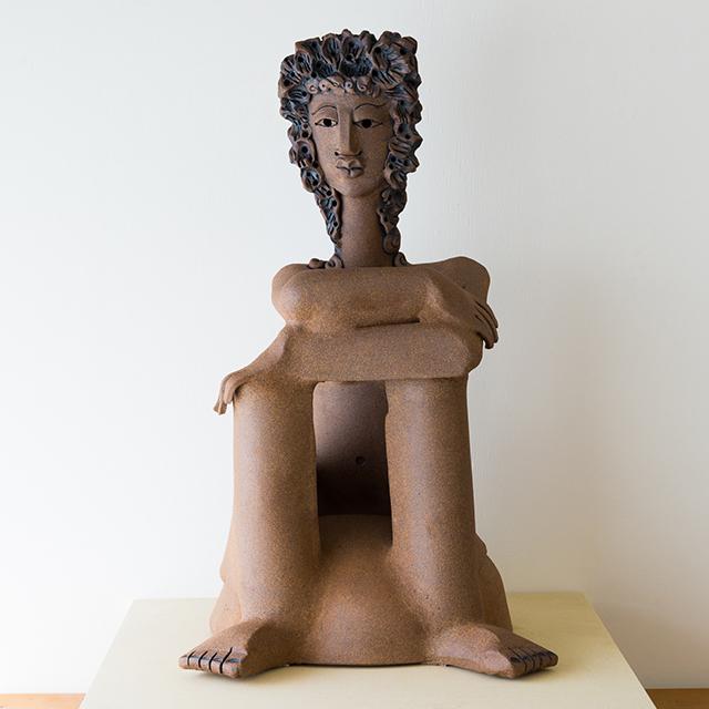 , 'Woman from Crete,' 2017, Craig Krull Gallery