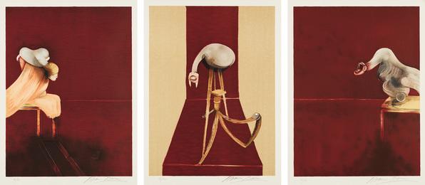 Deuxième version du triptyque, 1944 (Second Version of the Triptych 1944)