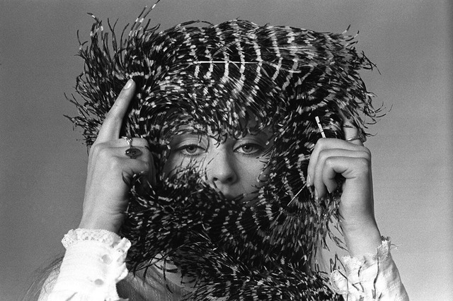 Baron Wolman, 'Lacy with feather crown', 1968, Mouche Gallery