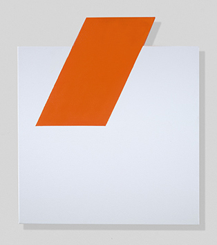, 'Orange, On and Off,' 2018, Berry Campbell Gallery