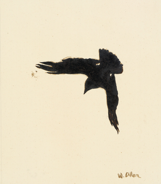 , 'Crow #16,' 2016, Anglim Gilbert Gallery