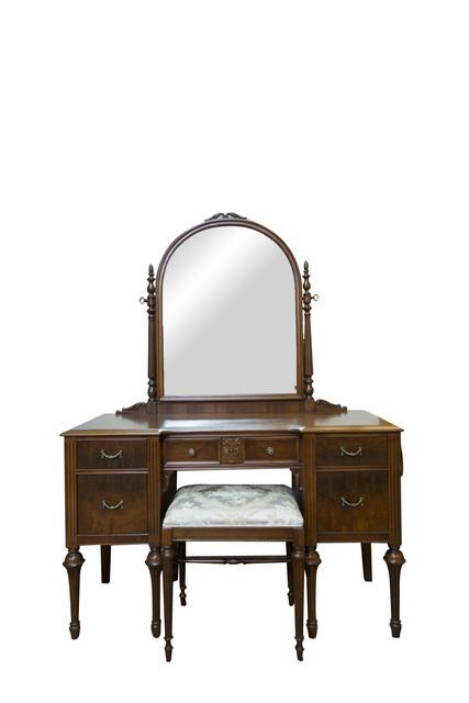 Victorian Antique Vanity And Mirror 1920 S Artsy