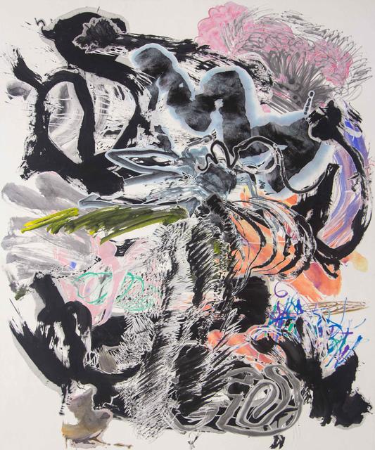 Wu Jian'an 邬建安, '500 Brushstrokes #62五百笔 #62', 2019, Chambers Fine Art