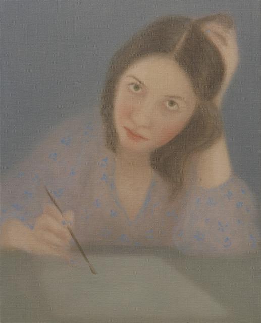 , 'Retrato dibujando,' , Espacio Líquido