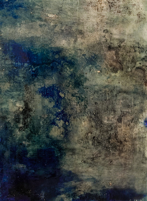 , 'Nocturnal Blue,' 2013, Wide Painting