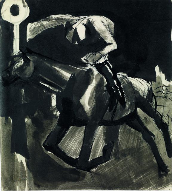 Mario Sironi, 'Fantino Al Galoppo', Itineris