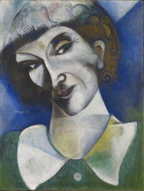 Marc Chagall, 'Self-Portrait  (Portrait de l'artiste)', 1914, Guggenheim Museum Bilbao