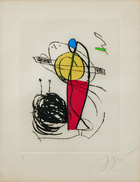 Joan Miró, 'The Suite Chanteur des Rues', 1981, Skinner