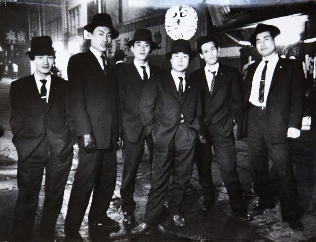 , 'Yakusa (gangsters). Kamagasaki, Osaka,' 1960-vintage print, IBASHO