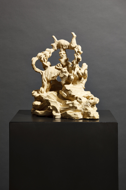 , 'Labour 4,' 2014, Parafin