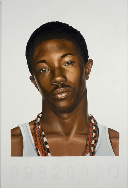 , 'Mugshot Study,' 2006, Seattle Art Museum