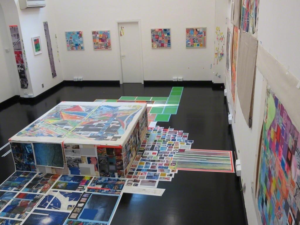 Franklin Evans Installation view. Photo: Antonio Maniscalco: Ricardo Gay-Luger.