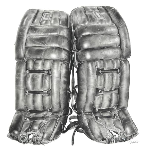 , 'Vintage Hockey Pads ,' 2015, Bernarducci Gallery Chelsea